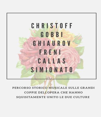 """Concerto lirico """"Di Levante e di Ponente: incontro di culture all'opera"""""""