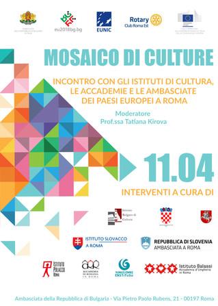 """Convegno """"Mosaico di culture"""","""
