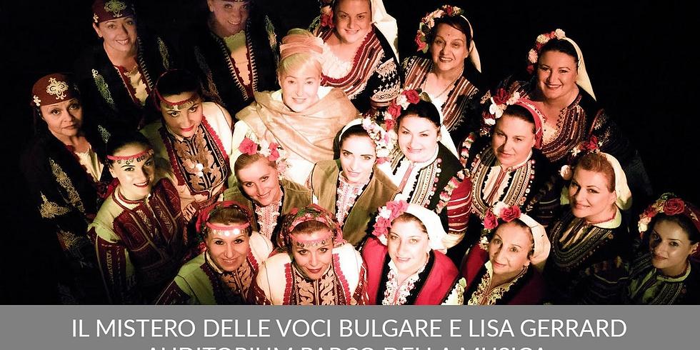 Concerto Mistero delle Voci Bulgare e Lisa Gerrard