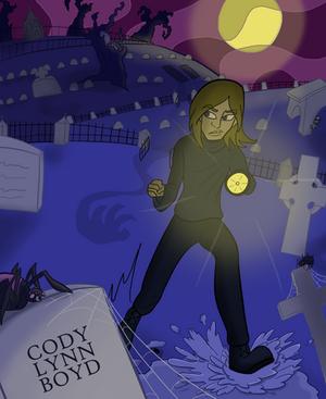 Cartoon Cody Lynn Boyd - Cemetery
