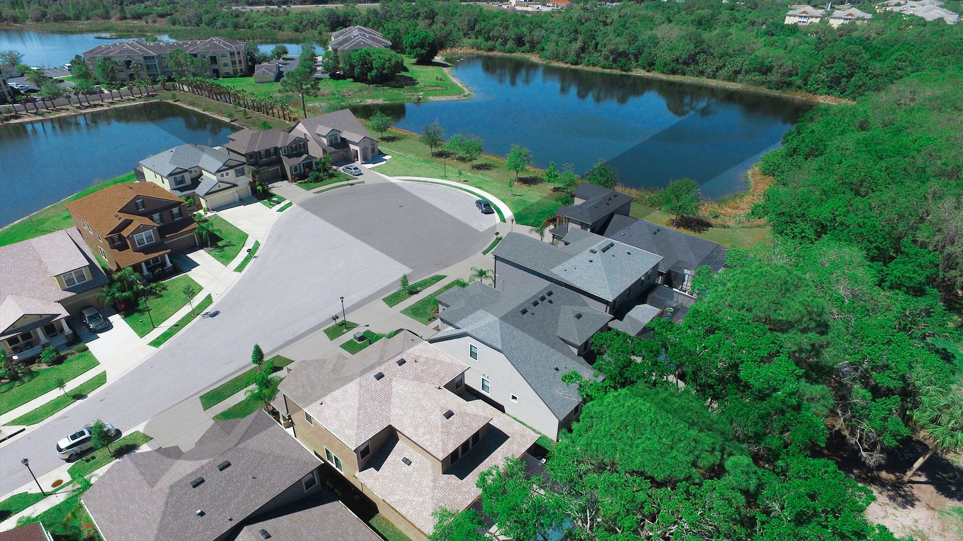 Aerial Views of Home