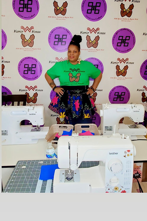 Beginners Level 2 sewing class Tuesdays  June 8th-29th