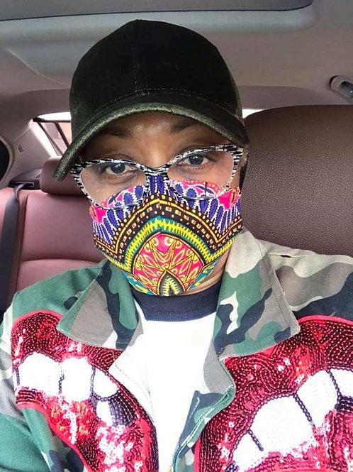 Afro-Mask
