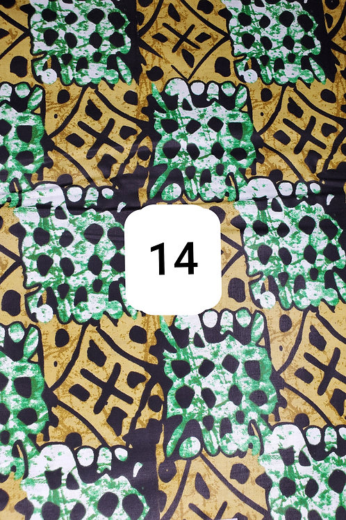 Authentic African Ankara Fabric