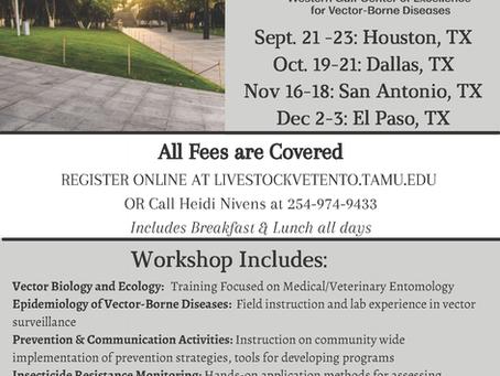3-Day WGCVBD Workshops returns Fall 2021