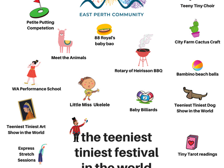 Teeniest Tiniest Festival in the World