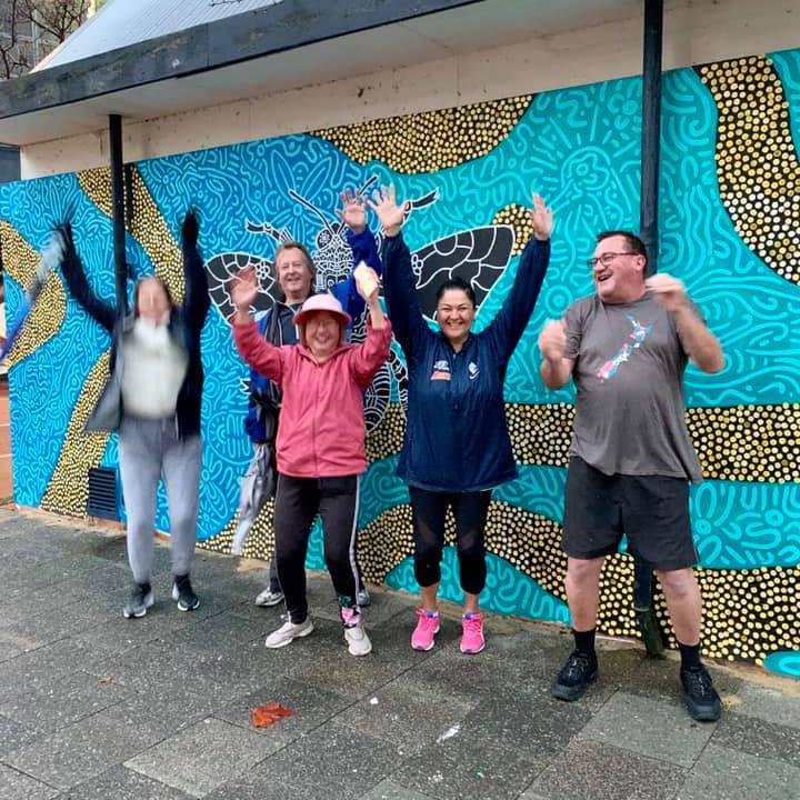 East Perth Community Walking Club & Terrace Team Walkers