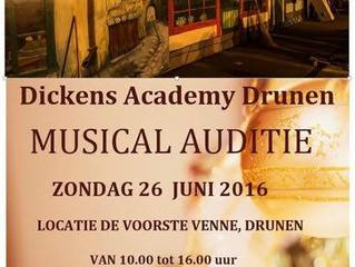 Heb jij je al opgegeven voor de Dickens Musical ?