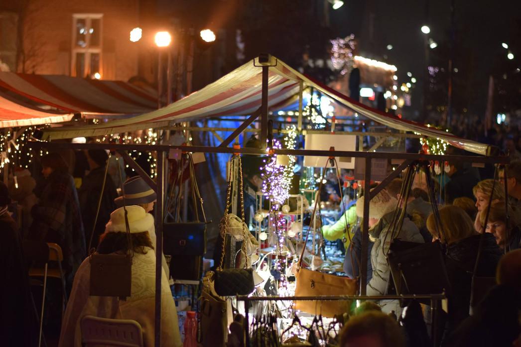 Grootse kerstmarkt