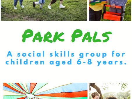 Park Pals Social Skills Group