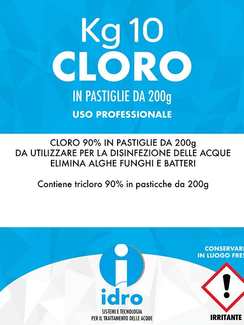 CLORO IN PASTICCHE - SECCHIO DA 10 KG