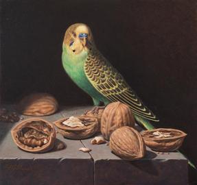 Still Life with Parakeet (2017)