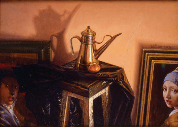 INCONGRUOUS STILL LIFE WITH VERMEER (2001)