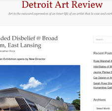 DETROIT ART REVIEW