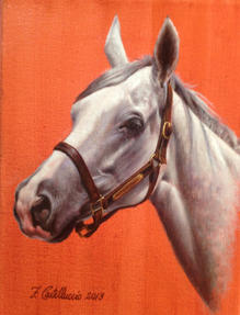 STUDY OF A HORSE (2014)