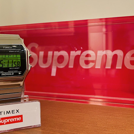 Supreme x Timex Digital Watch