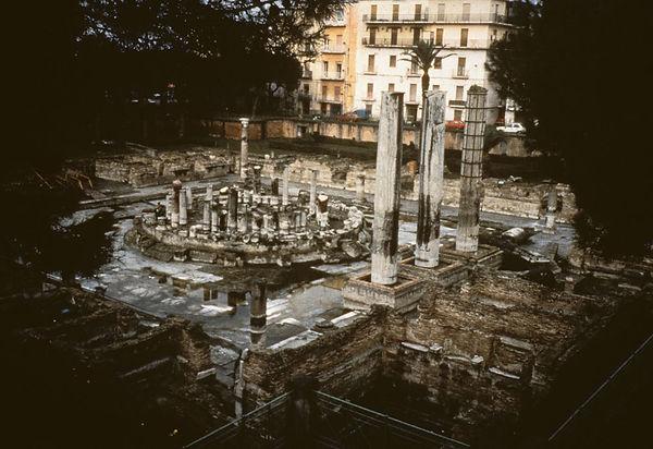 Serapis Temple Pozzouli 1986