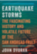 San Andreas fault book Earthquake Storms