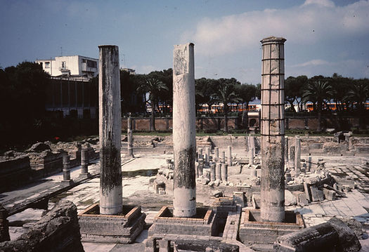 Serapis Temple Italy 1986