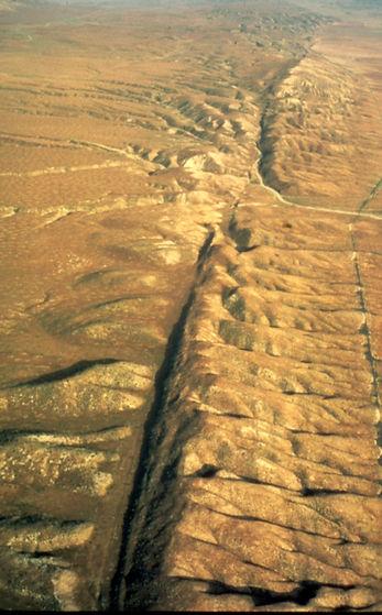 San Andreas fault Carrizo Plain