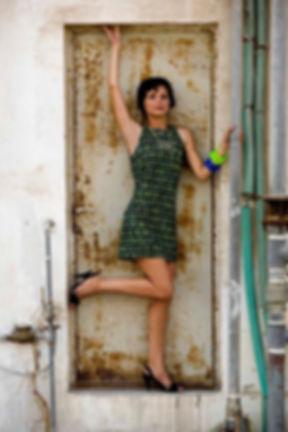 Modelo de porta oxidada
