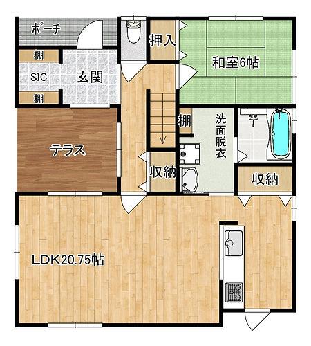 清滝 Plan図3 1階.jpg