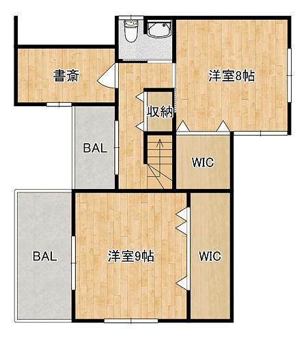 清滝中町プラン図3 2階.jpg