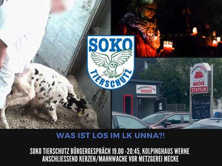 SOKO Tierschutz Bürgergespräch - Was ist los im LK Unna?