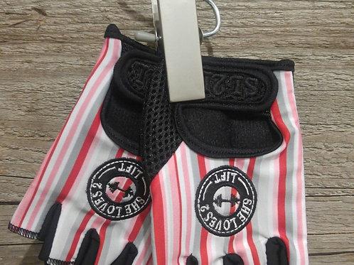 Pretty Pinstripes Gloves