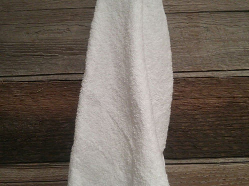 White Gym Towel