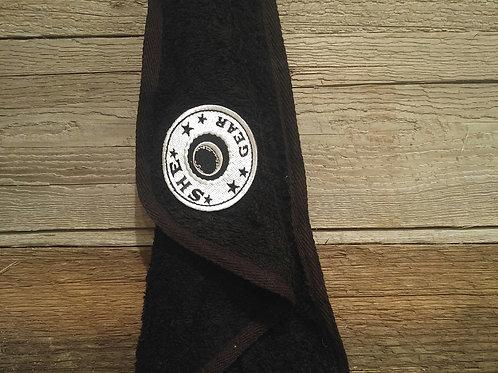 Black Golf Bag Towel