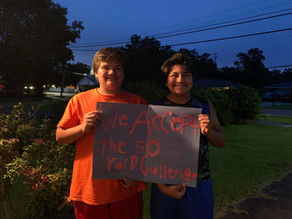 Local youth spend summer mowing lawns for 50 Yard Challenge