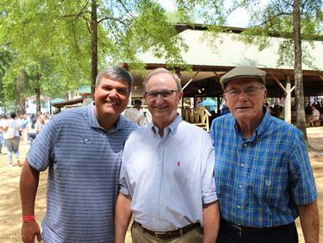 Sen. Dean Kirby of Pearl attend Neshoba Co. Fair