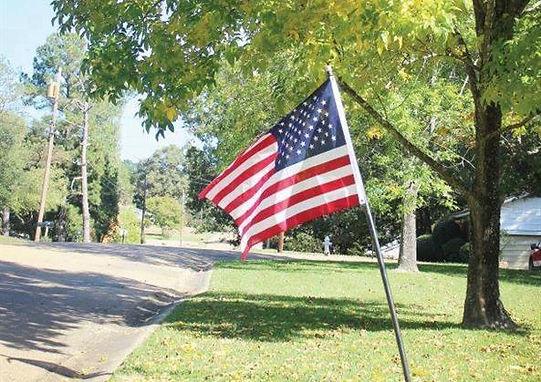 Clinton Nature Center  Holiday Flag Program