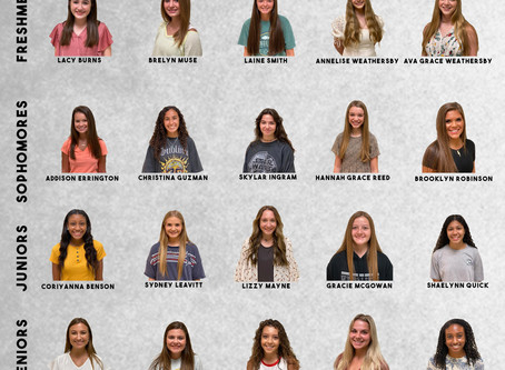 Florence High School Announces 2020 Homecoming Maids