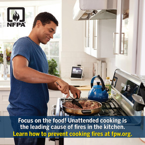 Cooking Related Fire Deaths Up Slightly In 2020