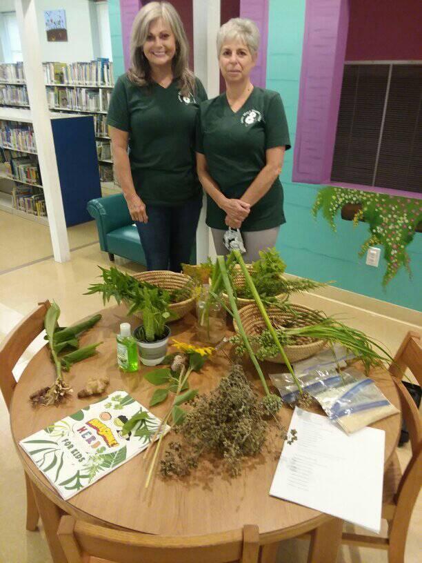 Garden Club hosts herb garden tea party