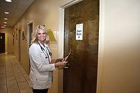 April Mclellan FNP-C in hallway 1.jpg