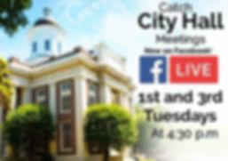 Live City Hall Meetings