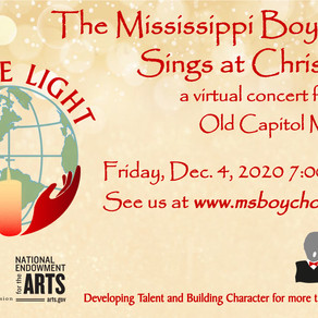 Mississippi Boychoir Announces Free Upcoming Christmas Concert - Be the Light