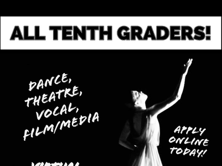 MSA Dance, Theatre, Vocal and Filmmaking Auditions