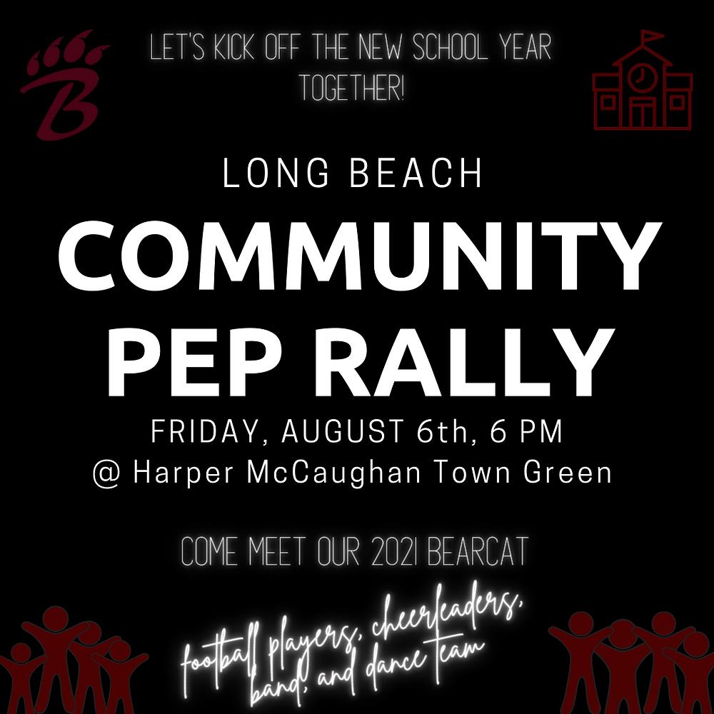 Long Beach Community Pep Rally