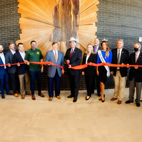 Dedication and Ribbon Cutting Marks Grand Opening of the New Mississippi Trade Mart