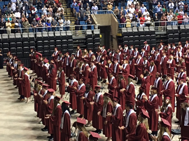 Graduates from the LBHS Class of 2021