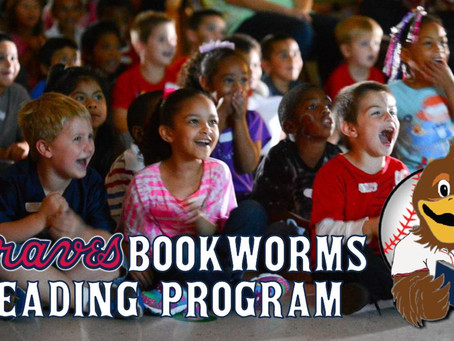 "Mississippi Braves launch ""Braves Bookworms"" reading program"