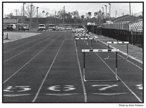 Long Beach High Track