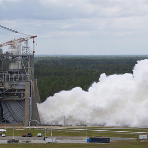NASA Conducts 2nd RS-25 Test in Latest Series for Artemis Moon Missions