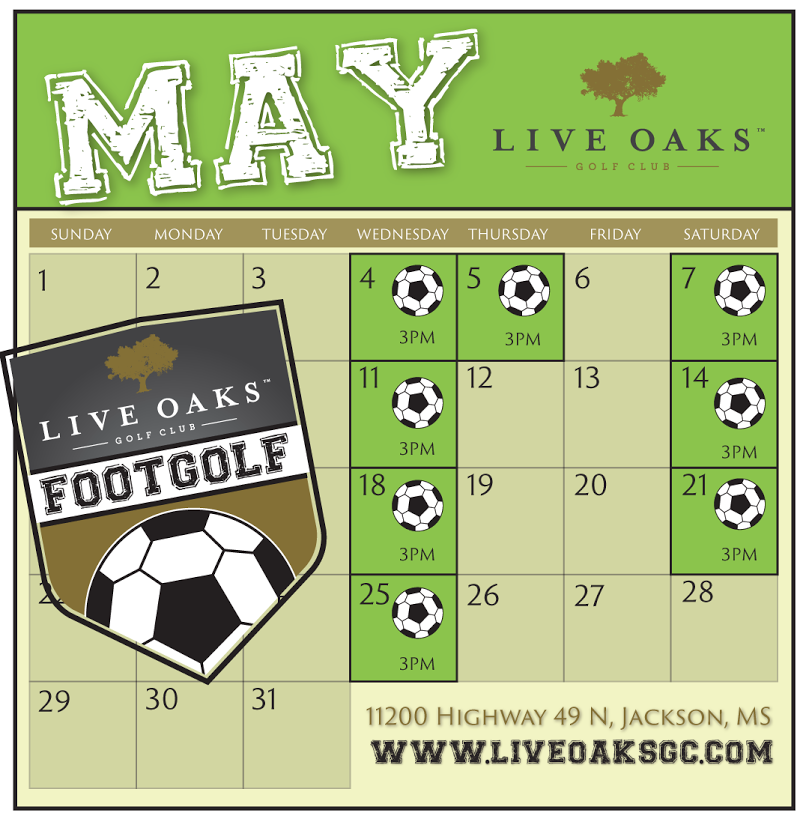 Live Oaks FootGolf