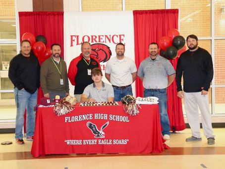 Florence High School Students sign to play baseball with Hinds Community College and Copiah-Lincoln
