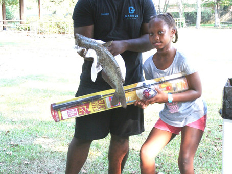 2019 Youth Fishing Rodeo held at Bright Park